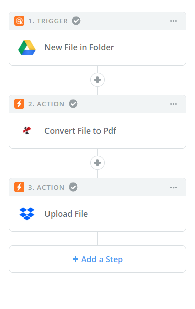 Pdf4me Zapier Sample
